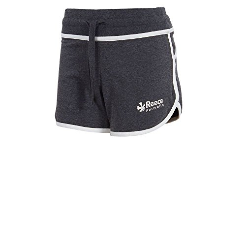 Reece Kate Sweat-Shorts Hockey Mädchen anthrazit-weiß anthrazit-weiß, 140