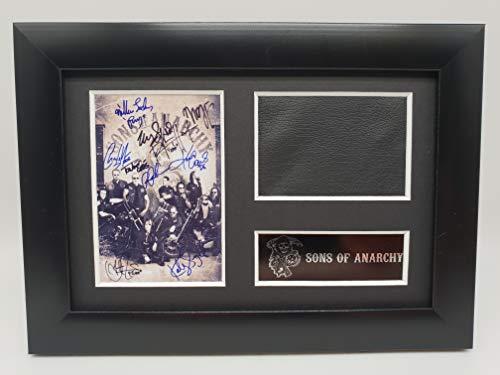 Teller Jax Kostüm - reelfilmcells Sons of Anarchy Jax Teller Kostüm-Erinnerungsstücke signiert Atemberaubende Kult Retro gerahmt Display