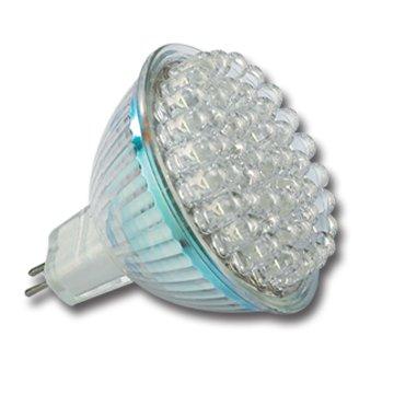 LUMIRA LED-Leuchte mit 60 LEDs und 220 Lumen, Warmweiß, MR16, 60° Abstrahlwinkel, 3,0 Watt, 12V von Lumira - Lampenhans.de