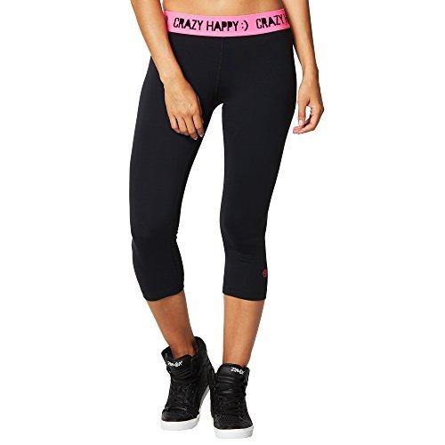 Zumba Fitness® Crazy Happy Capri Leggings Pantalones