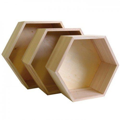3-tagres-hexagonales-en-bois