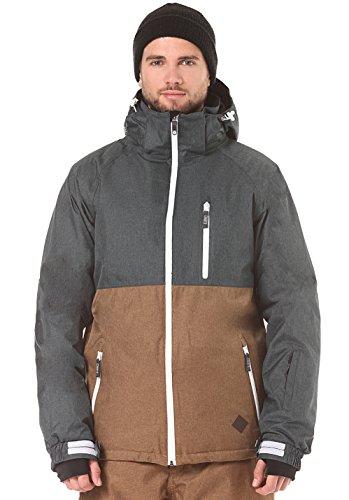 Light Herren Mens Jacket Tumbler Technical Outerwear, Anthra/Rubber, M Tumbler Ridge