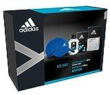 Adidas - Confezione Regalo Ice Dive: Profumo Uomo 50 ml, Dopobarba 100 ml e Cappello Baseball Blu