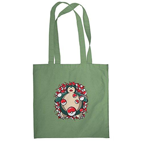 Texlab–American Snore–sacchetto di stoffa Oliva