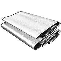 Prom-near Aluminiumfolie Doppelseitige Aluminiumfolie Feuchtigkeitsfeste Matte Feuchtigkeitsfeste Matte 200x150cm EVA-Schaum