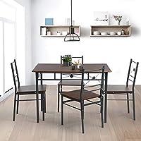Amazon.it: tavoli e sedie da pranzo - Includi non disponibili: Casa ...