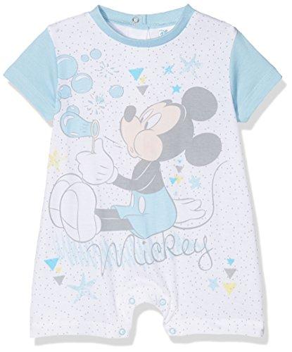 Disney 45361/az, pagliaccetto bimbo, turchese (light blue), 62 (taglia produttore:3/6)