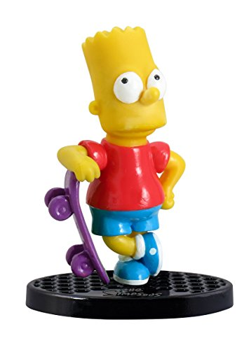 The Simpsons Bart with Skateboard Mini PVC Figura 1