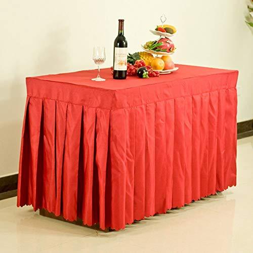 WG Tischtuchdecken, Home Tischdecken, runder Tisch Tischdecken, Hotel Tischdecken Konferenztischdecke Bankett Tischkleid Ausstellung Aktivitäten Tuchkleid mit vielen Größen für das Abendessen-Picknic