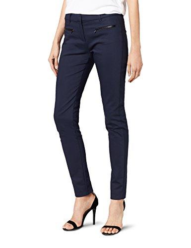 eab899f87 Tommy Hilfiger MARTA PANT - Pantalones Mujer, Azul (NIGHT SKY 421), 32