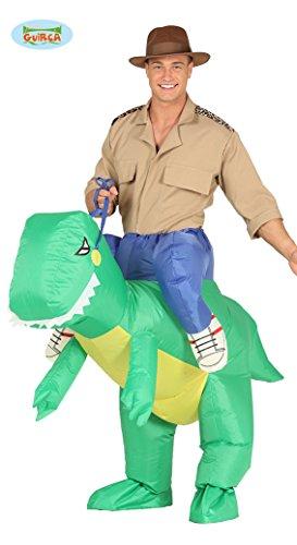 aufblasbarer Dinosaurier Dick Kostüm Tierkostüm für Erwachsene, Größe:L