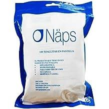 NAPS Bolsa 100 toallitas desmaquillantes
