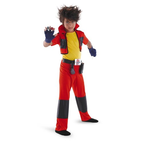 Bakugan Dan Classic Child Costume Bakugan Dan Classic Child Costume Halloween Size: Small (4-6) (japan (Kostüme Bakugan Dan)