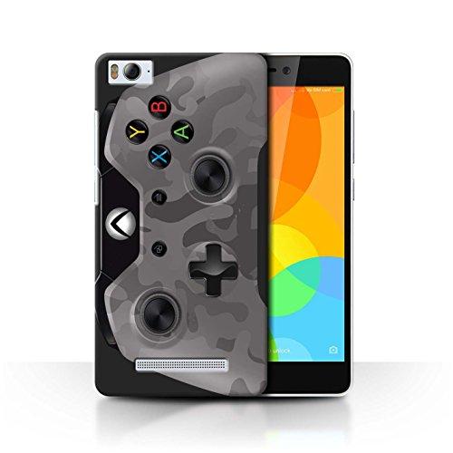 Stuff4® Hülle/Case für Xiaomi Mi 4i / Städtische Tarnung Muster/Videogamer/Xbox One Kollektion
