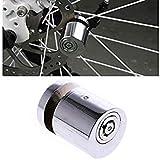 Stainless Steel Bicycle Lock Bicycle Brake Disc Safety Lock Bicycle Disc Lock BikeSecurity Lock