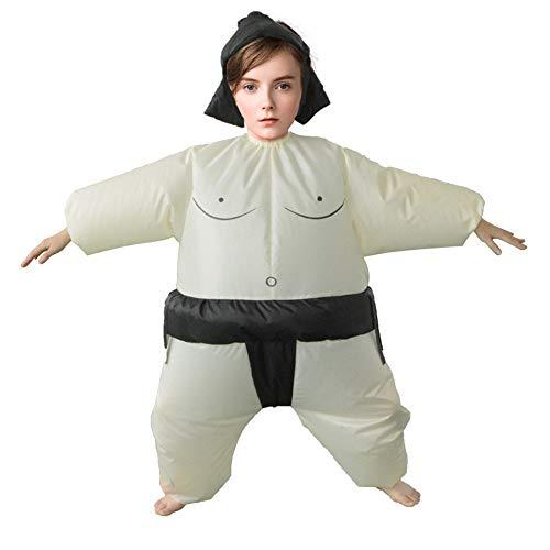 Kinder Sumo Wrestling Kostüm - OMAS Aufblasbare Kostüm für Kinder Sumo Wrestler Wrestling Kostüme für Erwachsene & Kinder Abendkleid Party Outfit Fasching Karneval