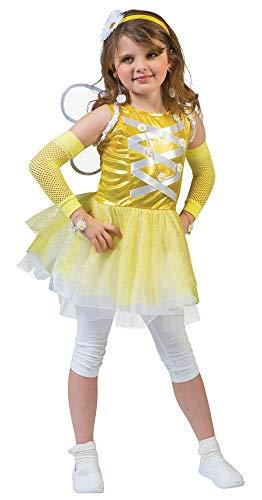 Kostüm Mädchen Belle Ballerina - Funny Fashion Prinzessin Belle Feenkostüm für Mädchen - Gr. 92