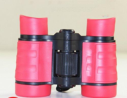 XCF High-Definition Eye PUROO Kinder-Teleskop - Twin Girls Toys - Schüler Jungen Baby Looking Glasses,Rosa,Fernrohr