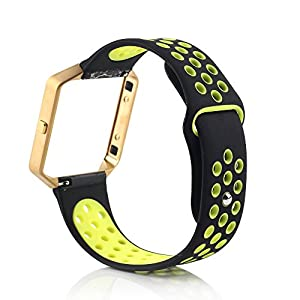 BillionGroup Silicone Band Replacement Strap for Fitbit Blaze Strap For Smart Fitbit Fitness Watch, New Release Strap For fitbit blaze£¨Frame not included£©