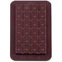 """Dr. Oetker Silikon-Schokoladenform """"Süße Tafeln"""" 2er Set, Formen aus hochwertigem Platinsilikon, Schokolade selbst machen - für individuelle Köstlichkeiten, (Farbe: braun), Menge: 1 Stück"""
