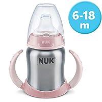 NUK Learner cup, şişe sepeti yüksek kaliteli paslanmaz çelik, uzun ömürlü ve hijyenik, 1 adet, 125 ml