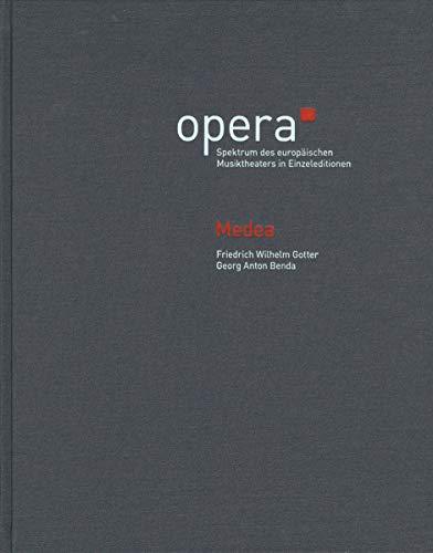 Medea -Ein mit Musik vermischtes Melodram- (Version 1784). Werkausgabe, Partitur, Kritischer Bericht, Datenträger (USB-Karte), Urtextausgabe. OPERA - ... Musiktheaters in Einzeleditionen 3