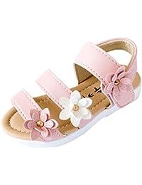 f9f40bfbcf3 EU 20-27 Bebe Fille Sandales Fleur Chaussures pour Soiree Ceremonie