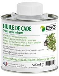 ESC - Huile de cade pour sabots de cheval & poney - 500 ml - + pinceau inclus
