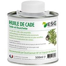 ESC - Huile de Cade - pour Sabots de Cheval & Poney - 500 ml - + pinceau inclus