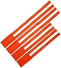 Reflector banda mayor seguridad en el tráfico |4X stück|leucht banda con velcro autoadhesivos para correr, ciclismo, jinete, walken|sicherheitsband reflectante amarillo para perros, gatos & caballo