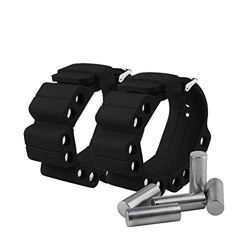 Bulary Fitness Sport Gewicht Armband Voll einstellbare Band für Handgelenk oder Knöchel für Krafttraining und Widerstand Übung Gewichte Laufen Übung Fitness Resistant Training
