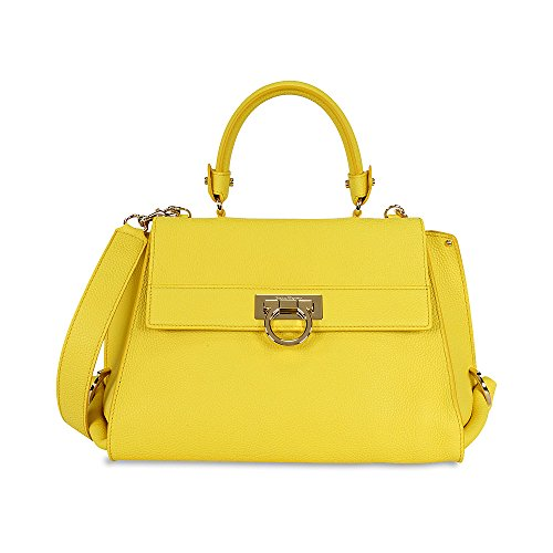Salvatore Ferragamo Salvatore Ferragamo Womens Handbag 21E530 0626971 GIALLO GIALLO