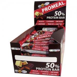 Barrette proteiche con il 50% di proteine! PROMEAL - 30 barrette da 30 grammi - Gusto: YOGURT (CIOCCOLATO BIANCO) - 41oKAF2F5 L
