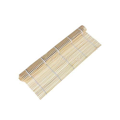 ISuper Bambus Sushi Sushi-Matte Sushi Rollen Sushi-Roll Mat ideal für Anfänger 9.4