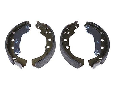 Blue Print ADS74116 Bremsbackensatz (hinten, 2 Bremsbacken)