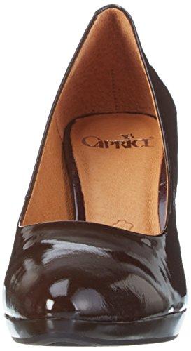 Caprice - 22410, Scarpe con Tacco Donna Marrone (BROWN PATENT 366)