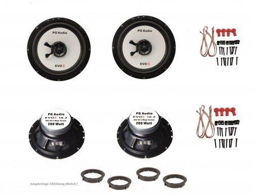 Opel Astra J, Insigna, Meriva, Lautsprecher Boxen, Tür vorne und hinten, PG Audio