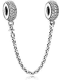 Pandora Femme 925 Argent #Silver Blanc Zircon