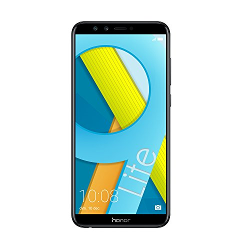 Honor 9 Lite Smartphone 3+32 GB (14,35 cm (5,65 Zoll) FHD+ Bildschirm, 32 GB interner Speicher & 3 GB RAM, Dual-Sim, Android 8.0) Midnight Black