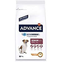 Advance Senior Mini - Pienso para Perros de Edad Avanzada de Razas pequeñas - 3 kg