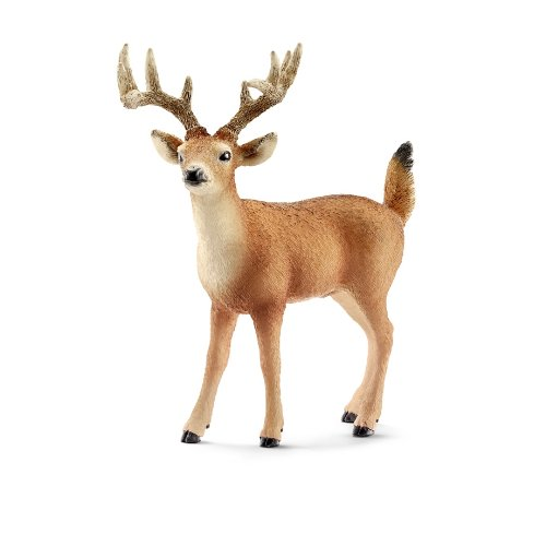Schleich Buck with Tail (White)
