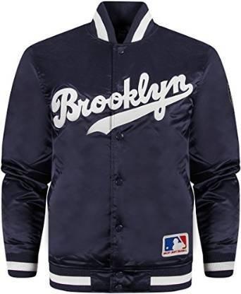 Bomber dei Brooklyn Dodgers, modello Keosian, in raso   Navy X-Small