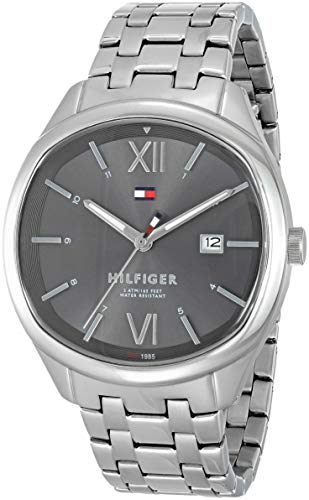 Tommy Hilfiger Analog Grey Dial Men's Watch-TH1710363