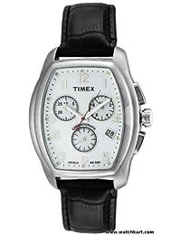 Timex Herren-Armbanduhr Analog Quarz Leder T2M982