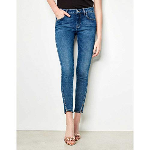 Reiko Jeans Daytona Cropped Skinny Jean in B-22 29 Womens Low Rise Cropped Pant