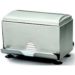 Stainless Steel Straw Dispenser 190x227x155mm Holder Beverage Restaurant Bar