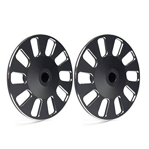 luckything 2er Pack Special Protective Wheel Antikollisionsschutz CNC Aluminium Teile Für DJI RoboMaster S1 - Protective Pack