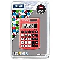 Kalkulator Milan kieszonkowy satynowy czerwony - Confronta prezzi