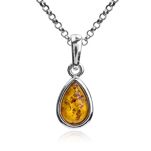 miele-ambra-argento-sterling-goccia-ciondolo-catena-46-cm