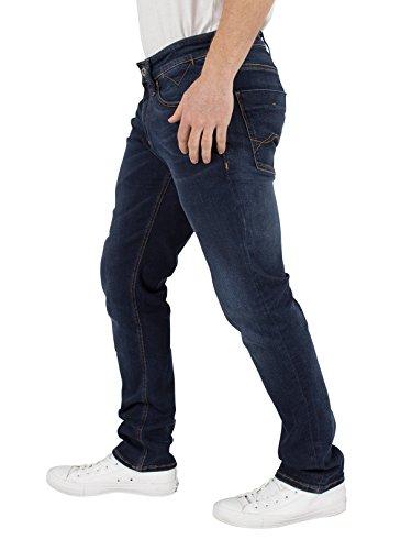 Hilfiger Denim Slim Scanton Dytdst, Jeans Homme Bleu